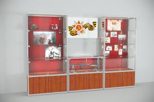 Комплект витрин для музея №1